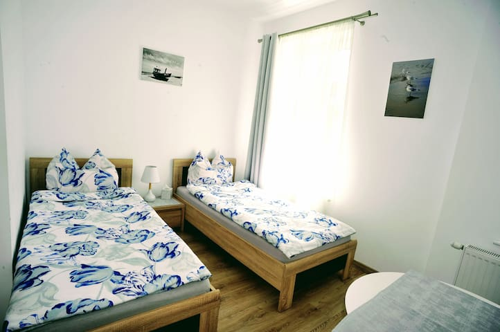 "Double room 200m from beach - villa ""Muszelka"""