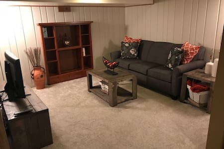 Updated one bdrm apartment with private entrance