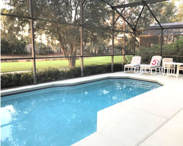 Executive Home, Golfcourse, Private Pool & Disney