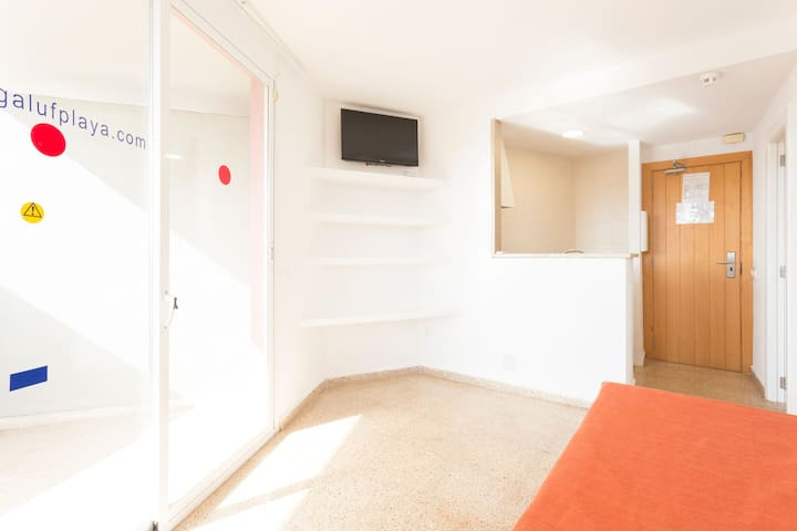 Apartamento 1 dormitorio Standard con Terraza-4 P