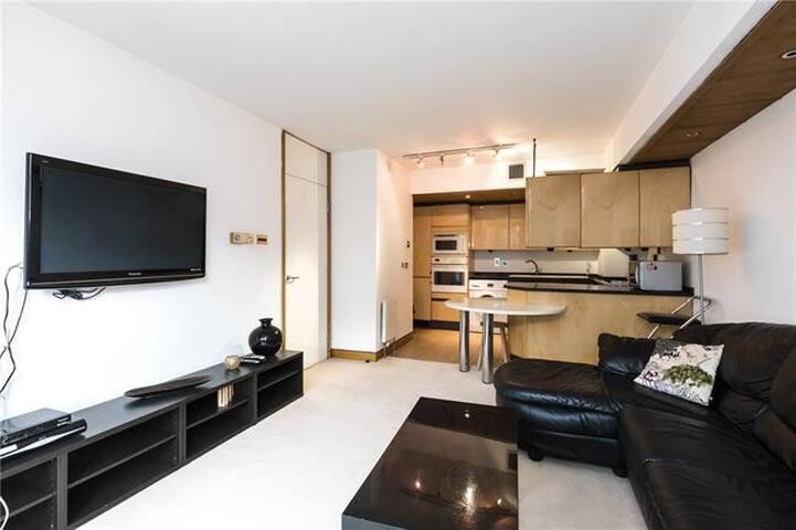 Luxury 1 bed flat Kensington 24/7 doorman +parking
