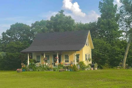 Berry Cozy Cottage charming, minutes to Branson, Eureka Springs.