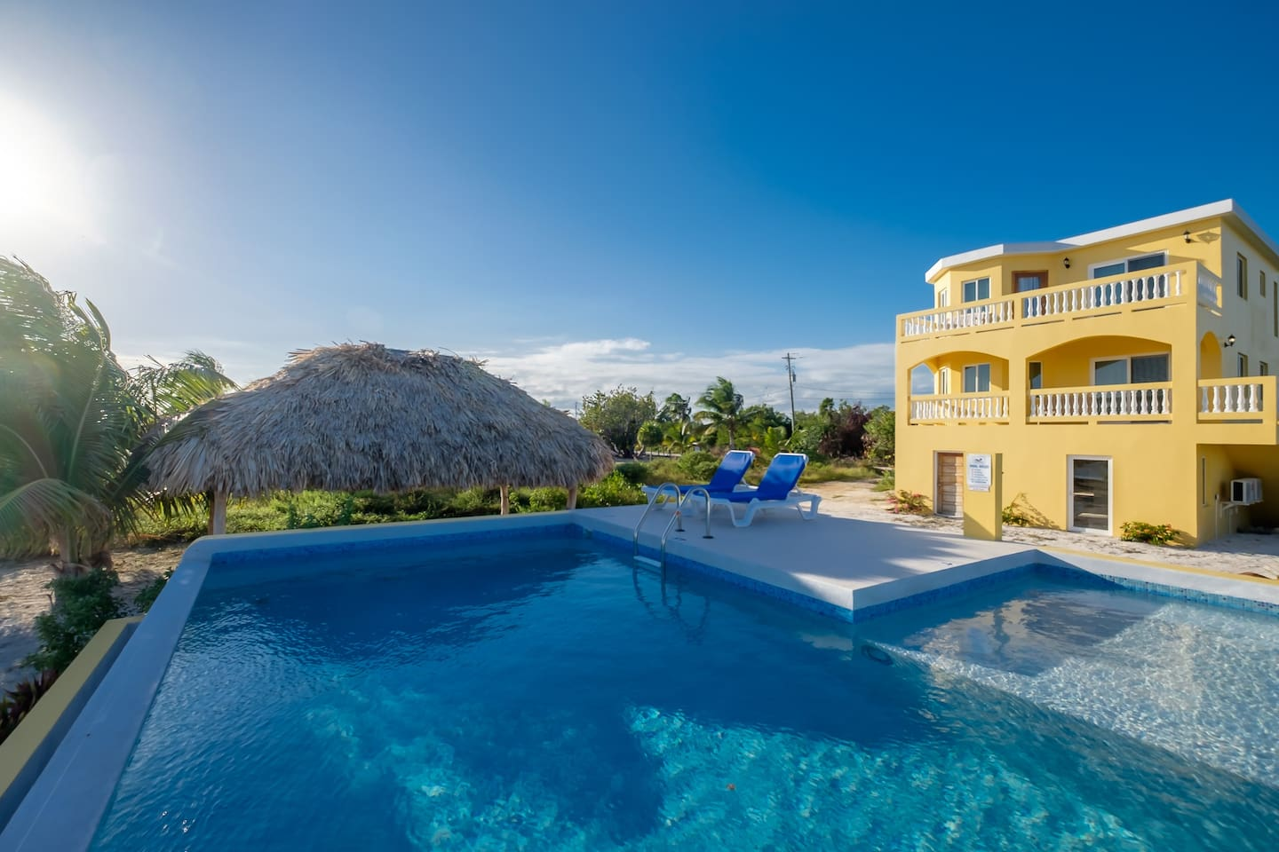It's pool time!! Seahaven Beach House, located ocean front with own private pool!