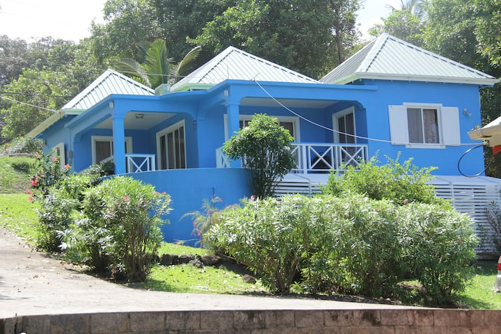 Blue Paradise, Blue Sky South, Grenada, W.I.