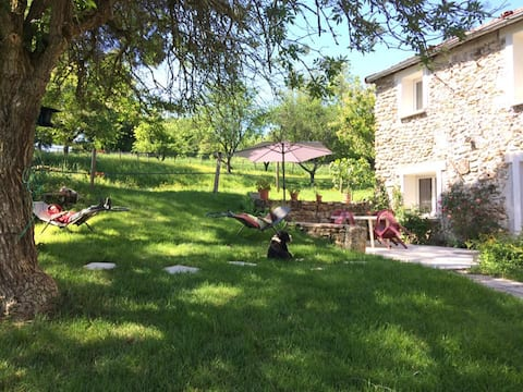 Maison Zen vue sur les chevaux sud Château-Thierry