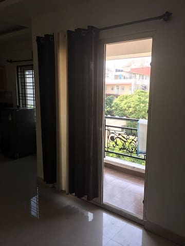 Peaceful 1BHK with balcony in centre  of the city.
