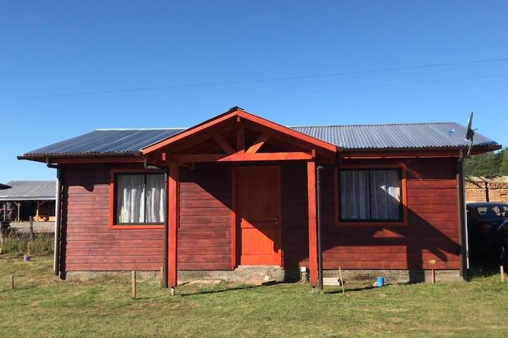 Casa para vacacionar en Villarrica