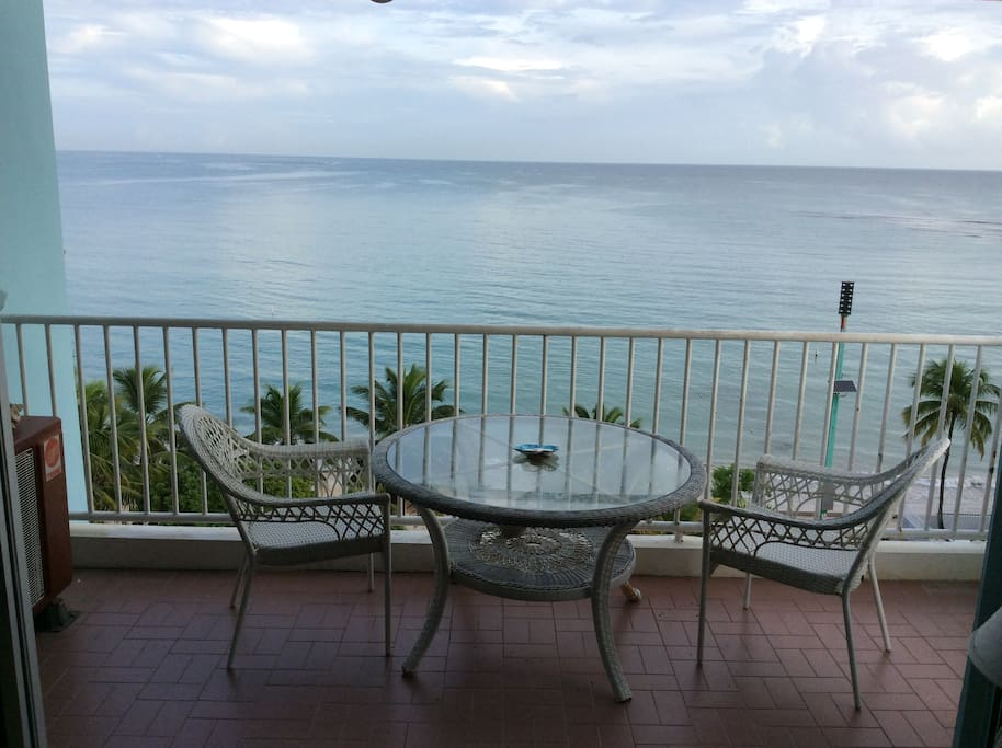 Ocean front balcony condominium- Beautiful Puerto Rico
