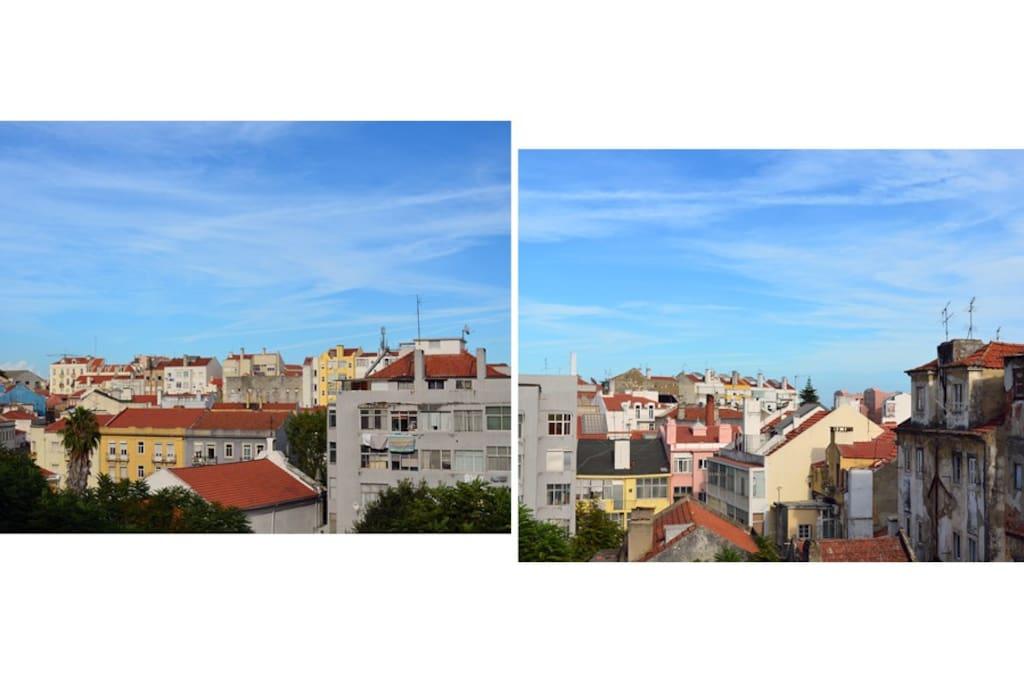 View over the neighboorhood
