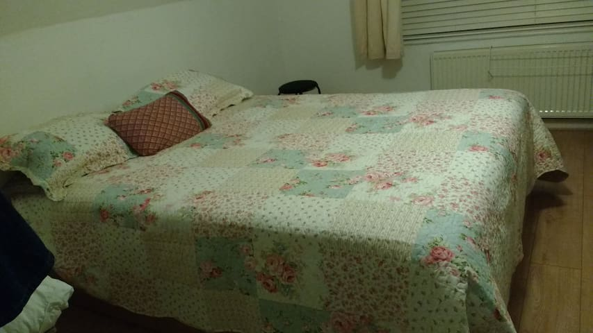 Spacious and comfortable double bedroom