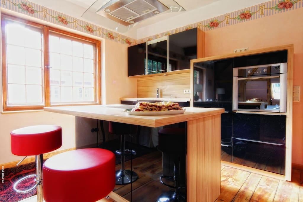 Offene Küche Alte Schmiede