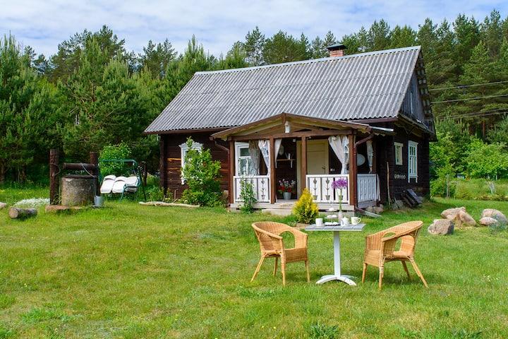 Усадьба Розовый Шмель на хуторе в лесу