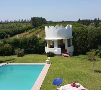 Maison familiale à la campagne - 30 min plages