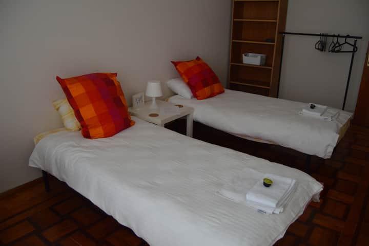 Bedroom between Lisbon and Sintra