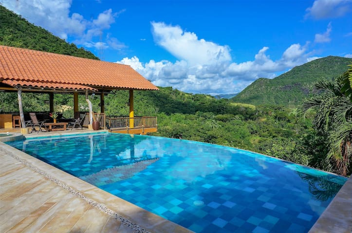 Private Villa With Breathtaking Views in Apulo!