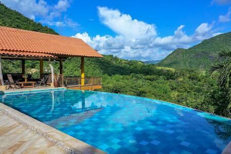 Private Villa With Breathtaking Views in Apulo!