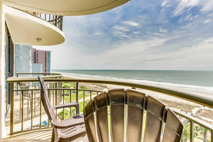 Oceanfront Condo w No Resort Fees/Snowbird Special Rates Available!!!🕓
