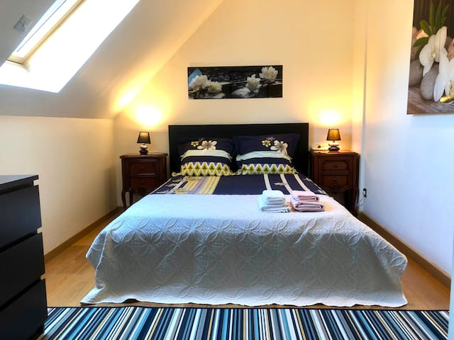 Room (Cosy) close Roissy CDG Airport
