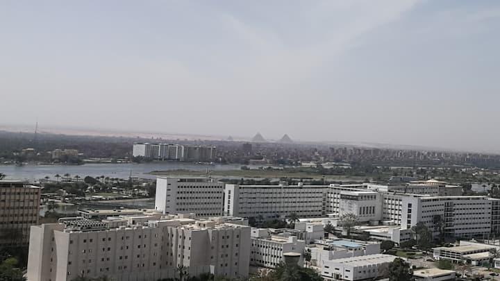 Cosy Maadi Nile View Flat
