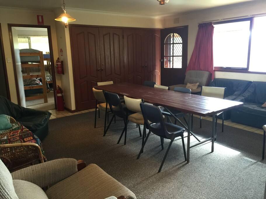 House 1- living room