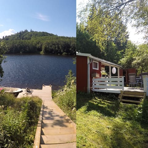 Cozy cabin, by the river in Trondheim (Skogly)