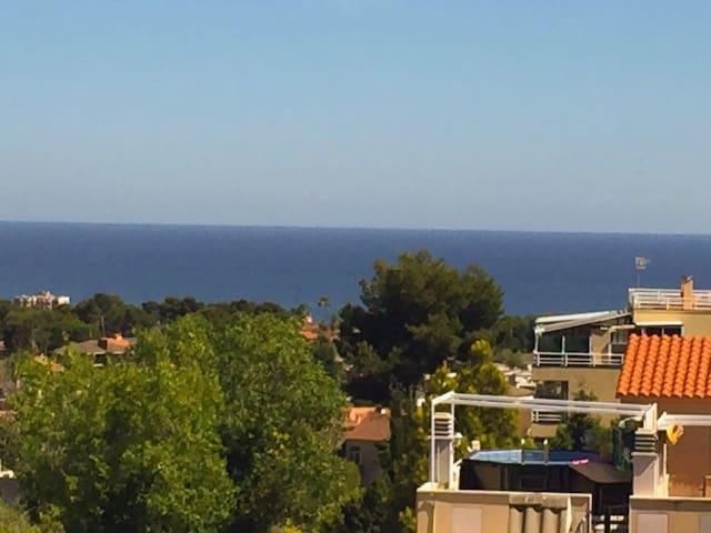 Beautiful view in a calm spot. - Segur de Calafell