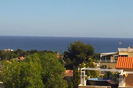 Beautiful view in a calm spot. - Segur de Calafell - Apartment - 0