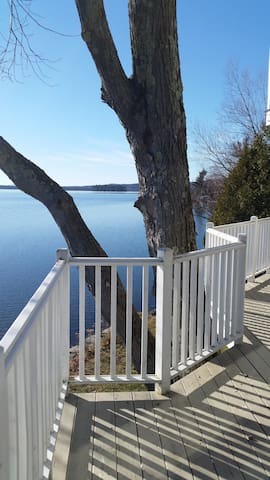 Stunning lakeside views