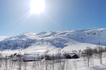 Mountain view apartment 1 - Sunny side of Røldal