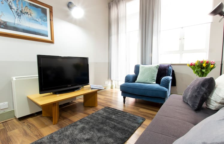 Ideal Temple Bar Quiet 2 BR sleeps up to 6 ASTH74