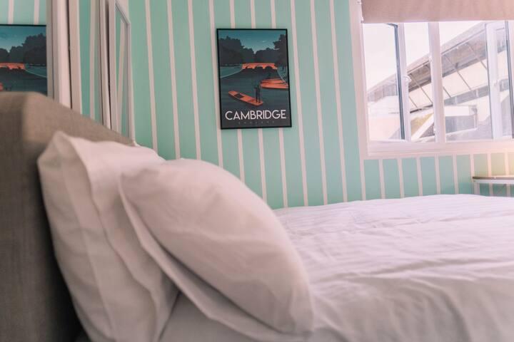 Cozy Double Ensuite room 市中心, 双人套房