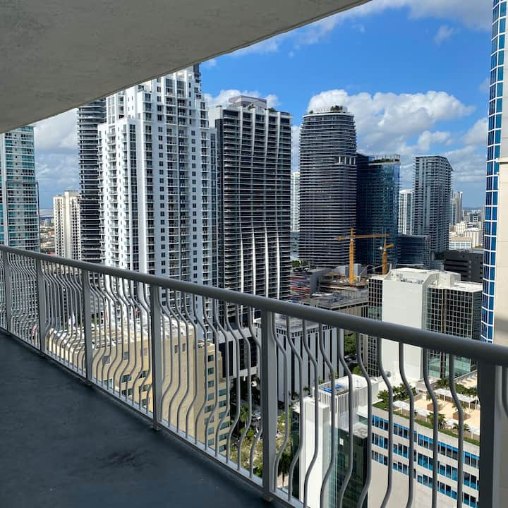 Breathtaking View of Brickell By the Water