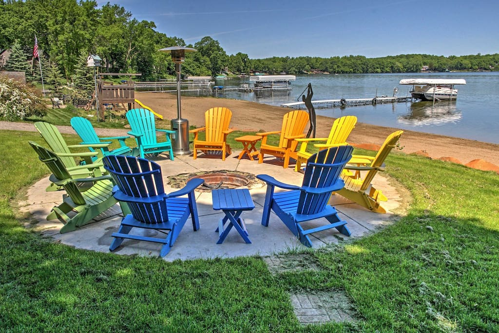 Enjoy spectacular lake views all around the property!