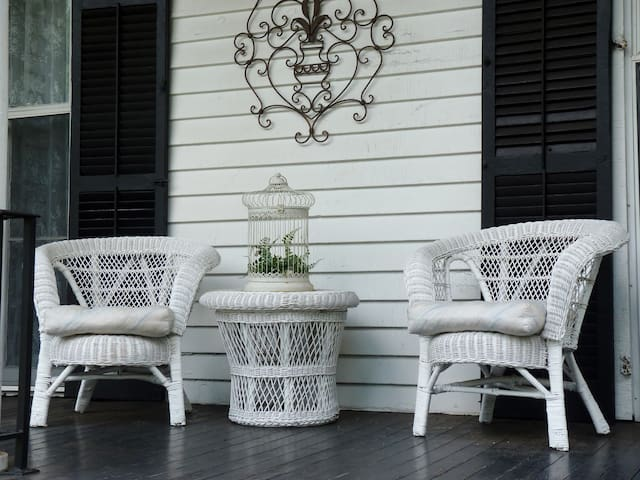 Enjoy a Cool Drink on the Large Porch