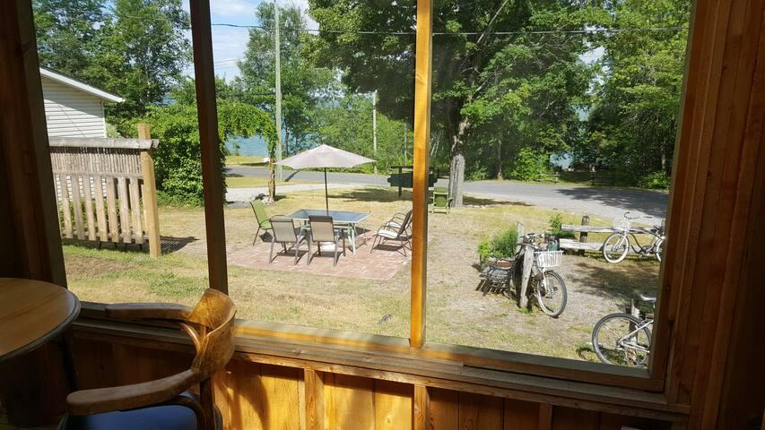 Orange Cabin at Maria's