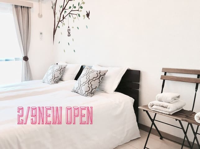 NEW OPEN SALE!HIGH FLOOR 5MIN TO TENJIN&CANAL - 福岡市 - Leilighet