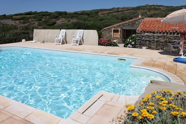 La Chintana C, villa romantica con piscina - Sassari - Townhouse