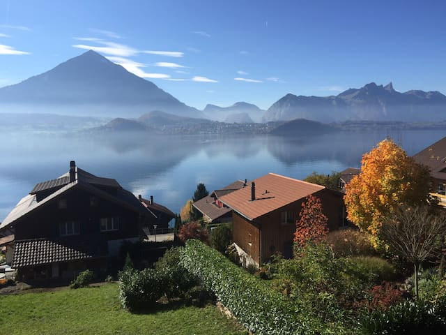 Amazing unforgettable Lake Thun - Merligen - Talo