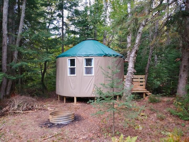 Great Lakes Yurt Camp: Bearadise Yurt