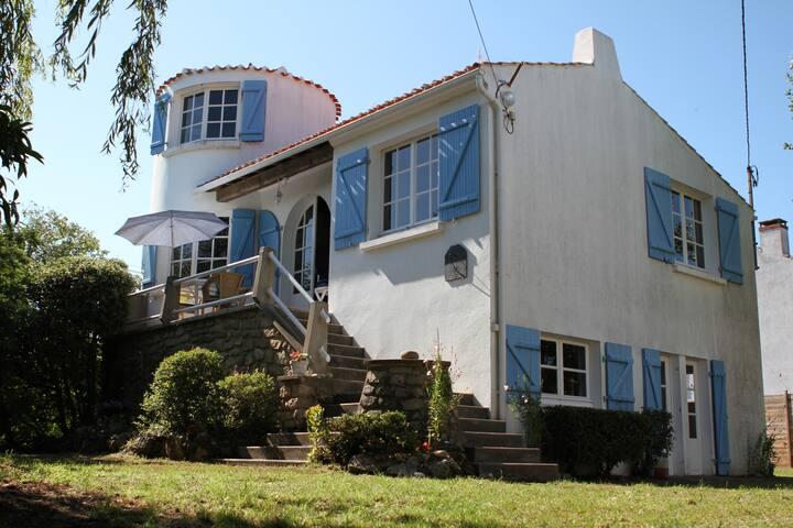 Maison de charme au pied de la plage des Sableaux - Noirmoutier-en-l'Île - Villa