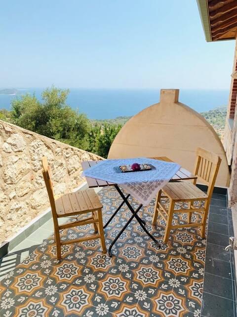 ŞiirEv Lorca- Suit, kitchen,Kekova view,Lycian way
