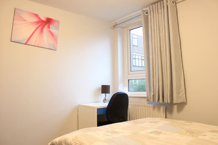 Spacious Double Bedroom 10mins from Canary Wharf