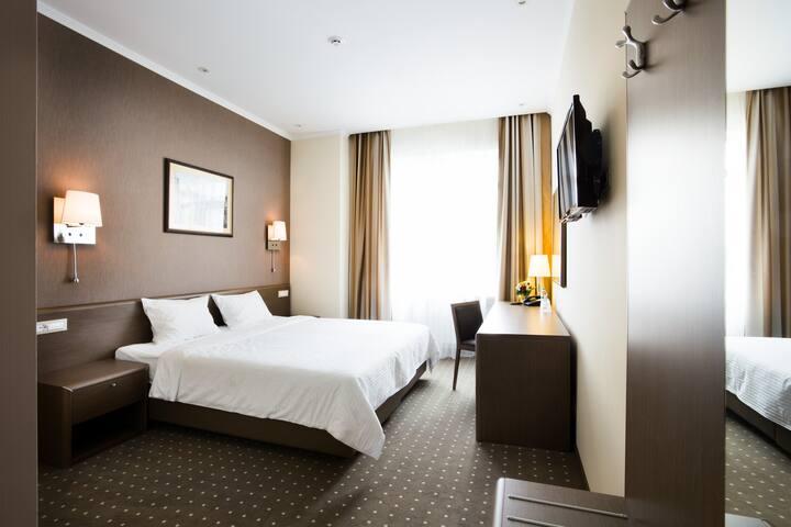 Cozy Standard room in hotel Alexandrovskiy