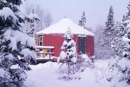 Yourte dans la nature - Lac-Etchemin - Yurt