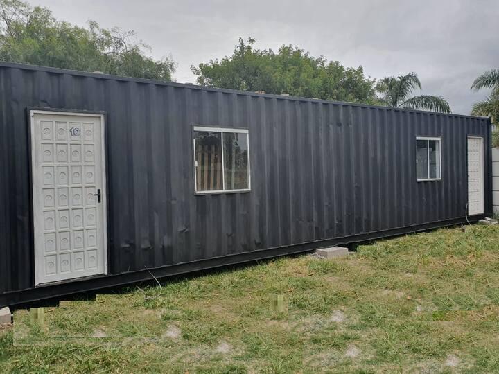 Casa Container climatizada.