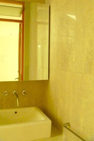 1 Bathroom (of 2, + outdoors shower)