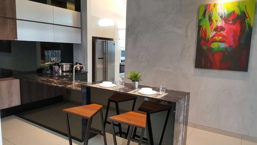 A+J Luxury homestay + clubhouse - Seremban - Hus