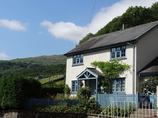 Cosy Foresters Cottage in Centre of Forest Park - Ganllwyd - House