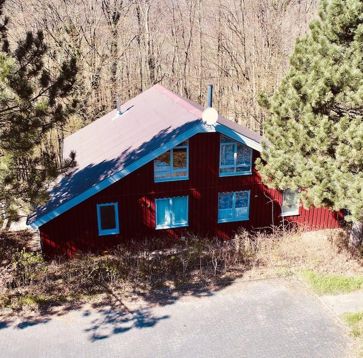 Komfort-Ferienhaus Sauna Erholung Natur Wald #51R