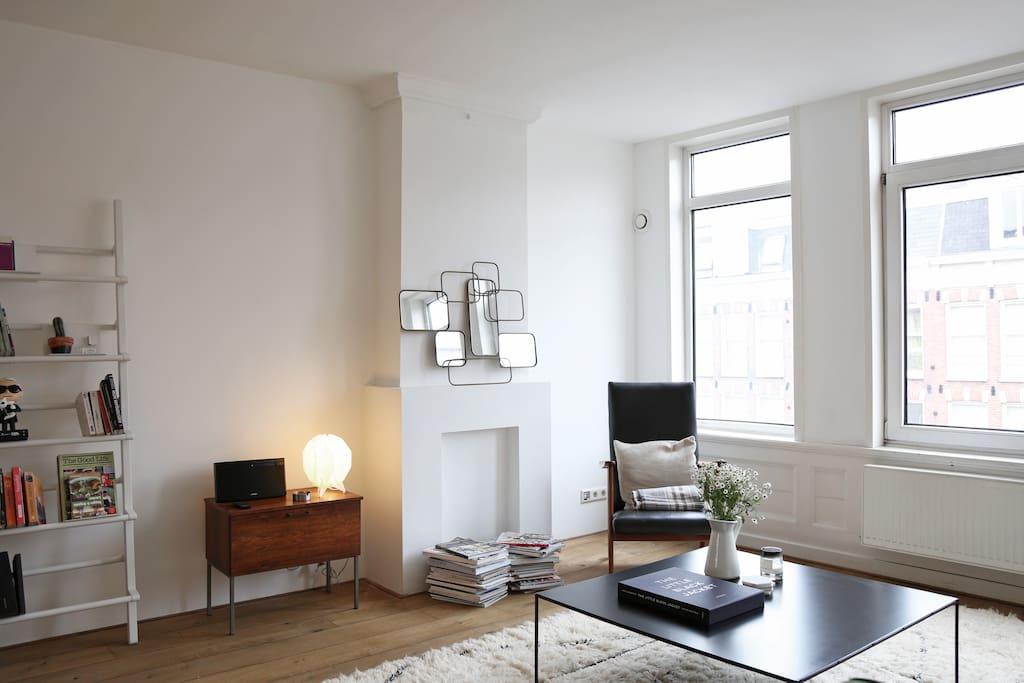 Lofty duplex apartment appartements louer amsterdam noord holland pays bas - Chambre a louer amsterdam ...